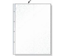 Rexel Genotherm, lefűzhető, A3, 80 mikron, 100 db