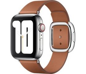 Apple bőrszíj modern csattal 40mm vörösesbarna M