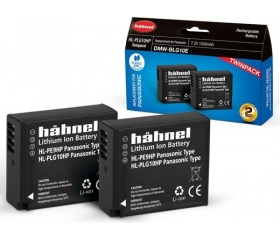 Hahnel HL-PLG10HP Twin Pack Panasonic DMW-BLG10EHP