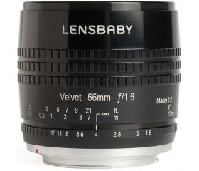 Lensbaby Velvet 56 f/1.6 (Canon)