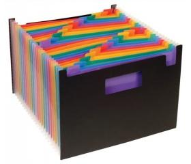 Viquel Rainbow Class 25 részes PP harmonika mappa