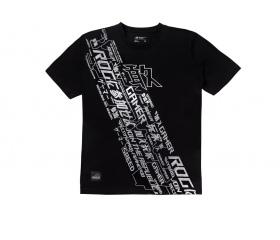 Asus ROG Cybertext-V póló M Fekete