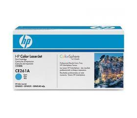 HP CE261A toner Cián