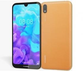 Huawei Y5 2019 DS borostyánbarna