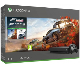Xbox One X Forza Horizon 4 & Forza Motorsport 7