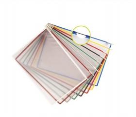 Tarifold Bemutatótábla, A4, műanyag, fekete 10db