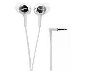 Sony MDREX155APW.AE  Fülhallgató headset