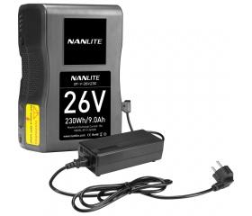 Nanlite V-Mount akku 26V 230Wh
