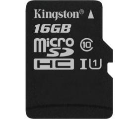 Kingston Canvas Select microSD 80MB/s 16GB