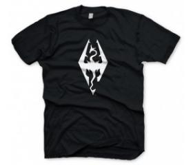 "Skyrim T-Shirt ""Dragon Symbol"", XL"
