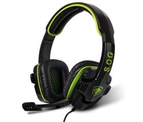 Spirit of Gamer ELITE-H8 fekete-zöld