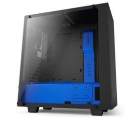 NZXT Source 340 Elite Fekete/Kék