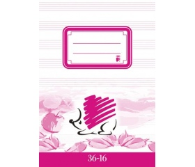 """ICO """"36-16"""" füzet, tűzött, A5, hangjegy, 32 lap"""