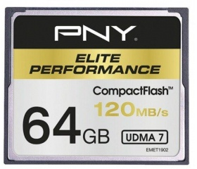 Flash card CF 64GB PNY Elite Performance