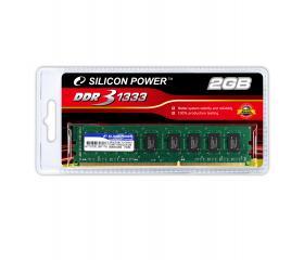 Silicon Power DDR3 PC10600 1333MHZ 2GB CL9 asztali
