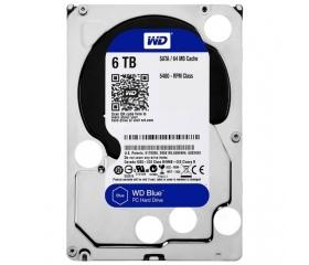 WD Blue 6TB SATA-III 5400rpm