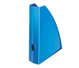 Leitz Iratpapucs, műanyag, 60 mm, metál kék