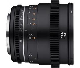 Samyang 85mm T1.5 VDSLR MK2 (Sony E)