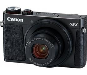 Canon PowerShot G9 X Mark II fekete