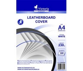 Victoria Hátlap, A4, 230 g, matt, fehér