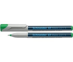 Schneider Alkoholmentes marker, OHP, 0,4 mm zöld