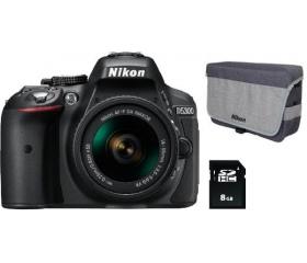 Nikon D5300 + AF-P 18-55 VR + 16GB SDHC + Táska