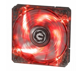 BitFenix Spectre PRO LED Red 120mm Fekete