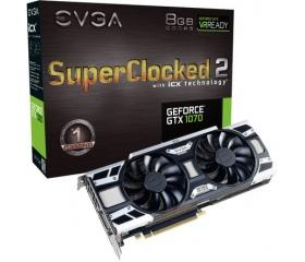 EVGA GeForce GTX 1070 SC2 GAMING 8GB ICX LED G/P/M