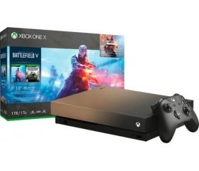 Microsoft Xbox One X 1TB Battlefield V Gold R S E