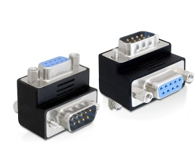 Delock adapter Sub-D 9 pin apa > anya 270°-ban elf