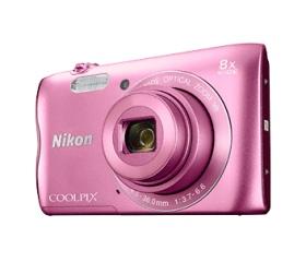 Nikon COOLPIX A300 rózsaszín