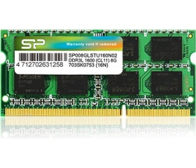 Silicon Power SO-DIMM DDR3 1600MHz CL11 DS 8GB