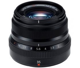 Fujifilm XF23mm f/2 R WR fekete