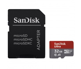 SANDISK MICROSD ULTRA ANDROID KÁRTYA 32GB, 98MB/s