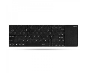 Rapoo E2710 touchpaddel, wireless, HU fekete