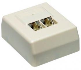 Roline STP CAT5e falra szerelhető csatlakozóaljzat