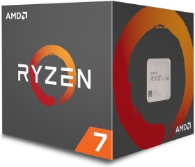 AMD Ryzen 7 1700X dobozos, hűtő nélkül