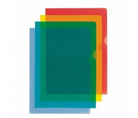 "Esselte Genotherm, ""L"", A4, 105 mikron kék 25db"