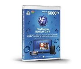 Sony Psn PlayStation Live Card 6000 Ft