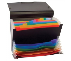 Viquel Rainbow Class 12+6 rekeszes harmonika mappa