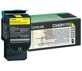 LEXMARK C540H1YG sárga