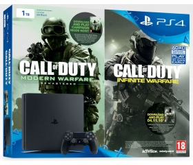 Sony PlayStation 4 Slim 1TB + COD:IW Legacy Edit.
