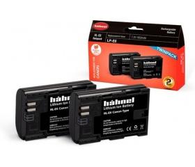 Hahnel HL-E6 Twin Pack (Canon LP-E6 1650mAh)