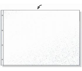 Rexel Genotherm, lefűzhető, A3, 80 mikron, 10 db