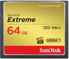 Sandisk Extreme CF UDMA7 120MB/s 64GB