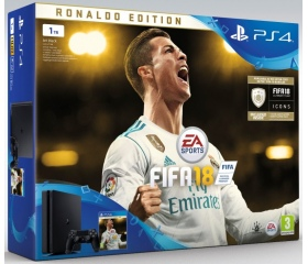 Playstation 4 Slim 1TB + FIFA 18 Deluxe