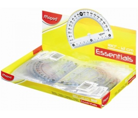 """Maped """"Essentials"""" Szögmérő, műanyag 180°-os"""