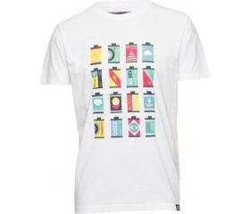 Cooph férfi póló Canisters fehér XL