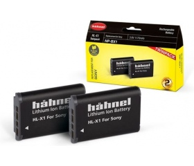 Hahnel HL-X1 Twin Pack (Sony NP-BX1 1170mAh)