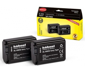 Hahnel HL-XW50 Twin Pack (Sony NP-FW50 1000mAh)